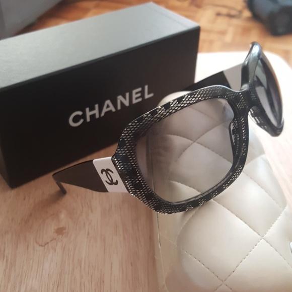 8ea91773ff03 CHANEL Accessories - CHANEL 5146 Lace Sunglass